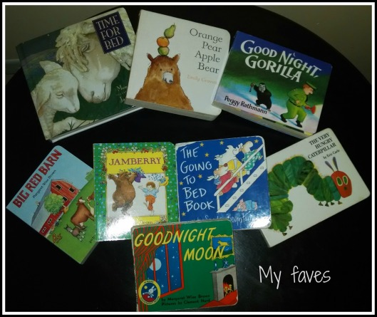 My Faves Board Books
